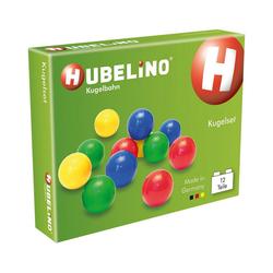 Hubelino Kugelbahn Hubelino - Kugel-Set, 12-tlg.