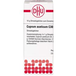 CUPRUM ACETICUM C 30 Globuli 10 g