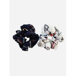 axy Zopfhalter XXL Scrunchie Haargummis Set, Doppelpack, 2-tlg., 2-Teiliges Scrunchies Haargummis Set, Zopfgummi Haarteil Haarband bunt