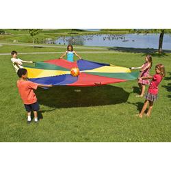 magic-man1001 Kinder-Gartenset Schwungtuch 1,80 m Schwungtücher Fallschirmtuch Spiele D 1,80 m