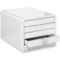 HAN Schubladenbox iBox weiß DIN C4 mit 5 Schubladen