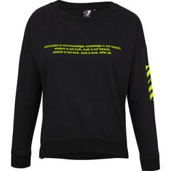 Get Fit Violet - Sweatshirt - Damen Black
