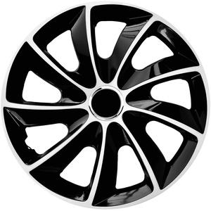 4x Radblenden weiß 17′′ STIG Extra NRM Radkappen, 4er Set Radzierblenden 17 Zoll