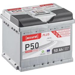 Accurat Plus P50 Autobatterie 50Ah