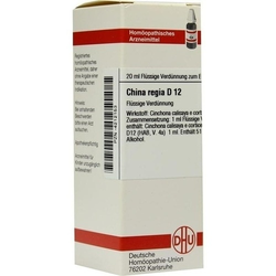 CHINA REGIA D 12 Dilution 20 ml