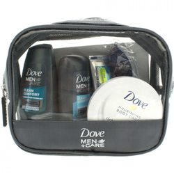 Dove Men+Care Reiseset 5teilig Geschenkset Pflege Produkte Kosmetik