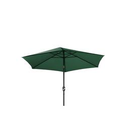 Ribelli Sonnenschirm, Sonnenschirm, dunkel grün, 270 cm grün