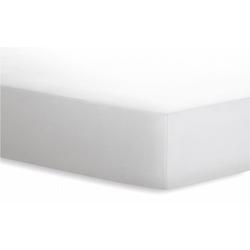 Schlafgut Spannbetttuch Jersey in weiß, 140 x 200 cm