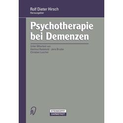 Psychotherapie bei Demenzen: eBook von