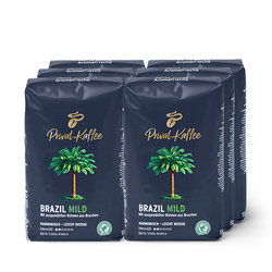 Privat Kaffee Brazil Mild - 6x 500 g Ganze Bohne Tchibo