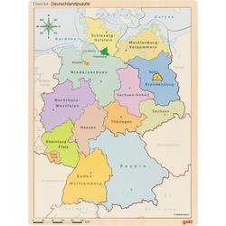 Puzzle im Puzzle Deutschland