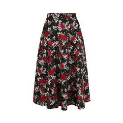 Banned Retro Rose Garden Skirt Medium-length skirt multicolour