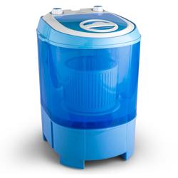 Mini Camping Waschmaschine Reisewaschmaschine Schleuder 2,8kg »SG003«, Waschmaschinen, 84969408-0 blau blau