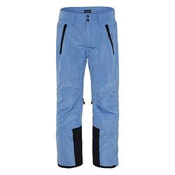 Skihose mit PlusMinus Print am Bein Skihosen blau Gr. 146/152 Jungen Kinder
