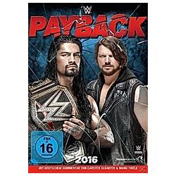 WWE - Payback 2016 - DVD  Filme