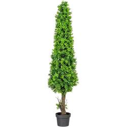 Kunstpflanze Buchsbaumpyramide Buchsbaum, Creativ green, Höhe 90 cm, im Kunststofftopf Ø 40 cm x 90 cm