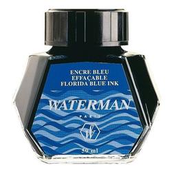 WATERMAN Tintenflacon 50ml Floridablau
