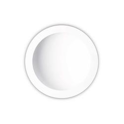 Mantra Einbauleuchte Cabrera LED-Einbau-Wandleuchte Weiß 22cm