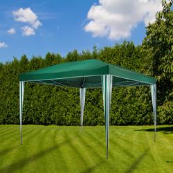 Gartenpavillon Faltpavillon 3x3 Meter grün Pavillon
