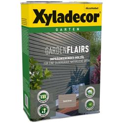 Xyladecor Holzöl Garden Flairs, für Gartengestaltung, sandgrau, 0,75 l