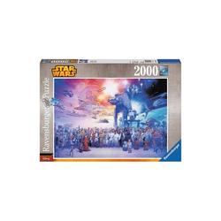 Ravensburger Puzzle Puzzle 2000 Teile, 98x75 cm, Star Wars Universum, Puzzleteile