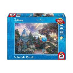 Schmidt Spiele Puzzle Puzzle 1000 Teile Thomas Kinkade, Disney, Puzzleteile