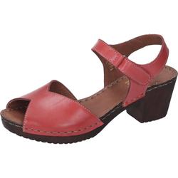 Manitu Komfort-Sandalen Sandale rot 40