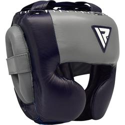 RDX O1 Sparring Kopfschutz für Profis (Größe: M, Farbe: Blau)