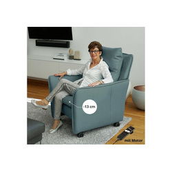 PLACE TO BE. Relaxsessel, Relaxsessel Insideout Wheels small - 13 cm schmaler blau
