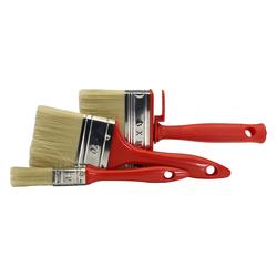 GO/ON Lasurenpinsel Set IP, für Lasur und Lackierung von Holz, 1 x 20 mm, 1 x 70...