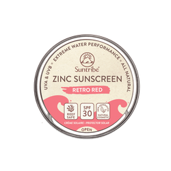 Suntribe Zinksonnencreme  - Retro Red LSF30 45g