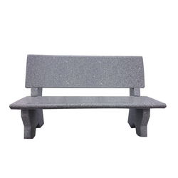 Dehner Gartenbank 2-Sitzer, 120 x 50 x 75 cm, Granit