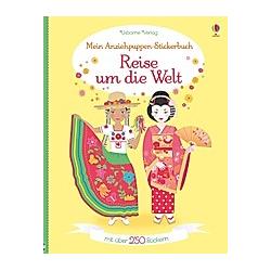 Mein Anziehpuppen-Stickerbuch: Reise um die Welt. Emily Bone  - Buch