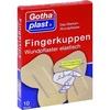 Gothaplast FINGERKUPPEN WUNDPFLASTER elastisch mit Fingerling