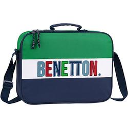 Umhängetasche Benetton UCB 1965 blau/grün