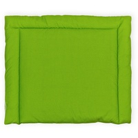 KraftKids Wickelauflage weiße Punkte auf Grün, Wickelunterlage 85x75 cm x 75 cm