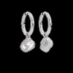 Ohrringe Treasure Pearl Silber