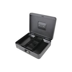 HMF Geldkassette 10017, mit Zahlenschloss, 30 x 24 x 9 cm