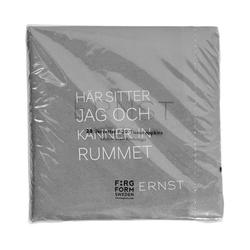 Ernst Kirchsteiger Serviette 'Tid/Rum' Grau