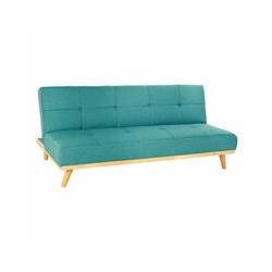 Canapé Convertible Polyester Mousse Bois (180 x 39 x 102 cm) (180 x 80 x 81 cm) - Dkd Home Decor