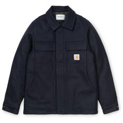 Carhartt Wip - Wool Arctic Coat Dark Navy - Jacken - Größe: S