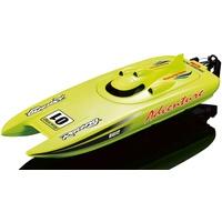 AMEWI Motorboot Rennkatamaran Adventure RTR grün 26074