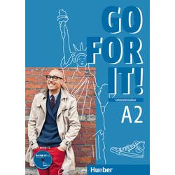 Go for it! A2. Intensivtrainer mit Audio-CD als Buch von Judith Mader