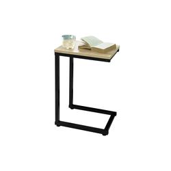 SoBuy Beistelltisch FBT87, Laptoptisch Pflegetisch natur 30 cm x 60 cm x 40 cm