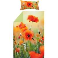 REDBEST Bettwäsche floral bunt 135 x 200 cm + 40 x 80 cm