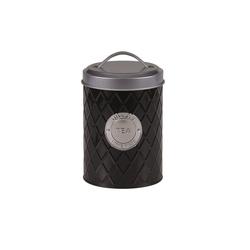 Michelino Teedose Teedose Vorratsdose, Metall, (1-tlg) schwarz