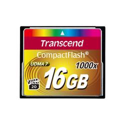 Transcend CompactFlash Card 16 GB Speicherkarte