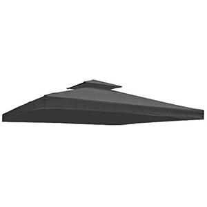 Ersatzdach Dach für Partyzelt Pavillon in verschiedenen Farben (Grau)