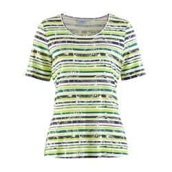 Avena Damen Aloe vera-Shirt Sommerfrische Gelb 52