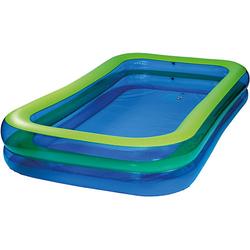 Jumbo Pool blau/grün